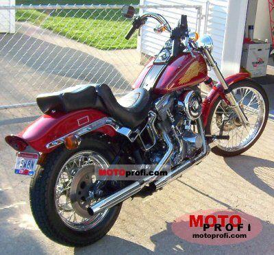 Harley-Davidson FXST 1340 Softail 1985 photo