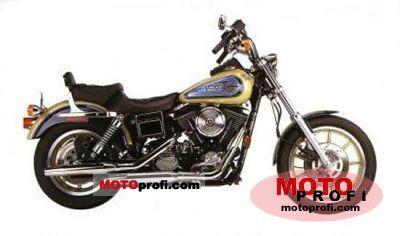 Harley-Davidson Dyna Glide Daytona 1992 photo