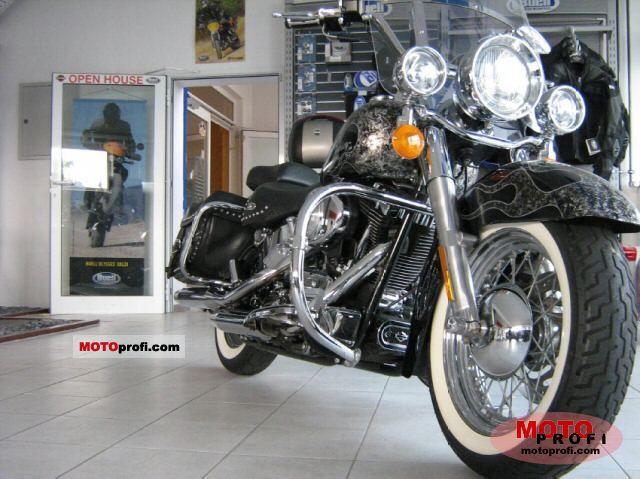 Harley Davidson Flstc Heritage Softail Classic Dimensions