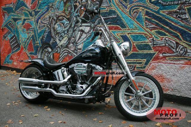 Harley Davidson Fatboy Custom. Harley-Davidson FLSTFI Fat Boy