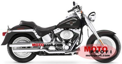 Harley-Davidson FLSTFI Softail Fat Boy 2005 photo