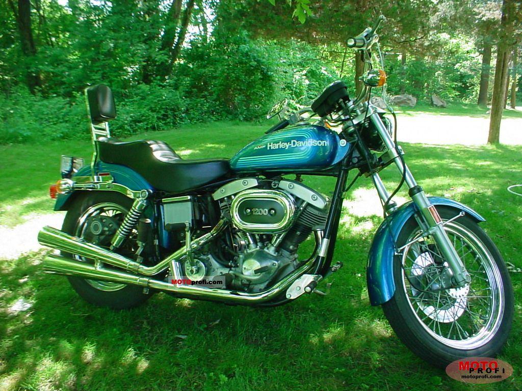 Harley-Davidson FX 1200 1976 photo