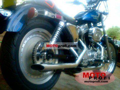 Harley-Davidson XLH Sportster 883 Evolution 1986 photo