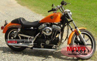 Harley-Davidson XLH Sportster 883 Evolution 1987 Specs and Photos