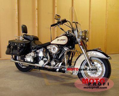 Harley-Davidson FLSTC 1340 Heritage Softail Classic 1989 photo