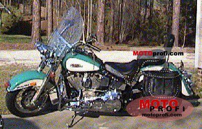 Harley-Davidson FLSTC 1340 Heritage Softail Classic 1990 photo
