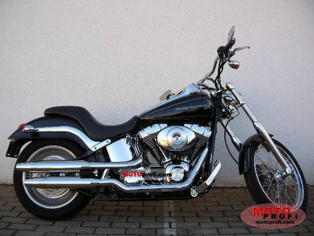 Harley-Davidson FXSTDI Softail Deuce 2004 photo