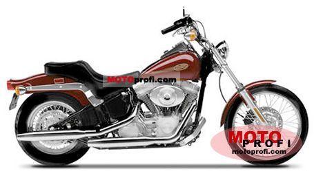 Harley-Davidson Softail Standard 2001 photo