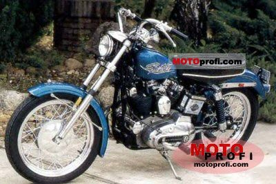 Harley-Davidson XLH 900 Sportster 1971 photo