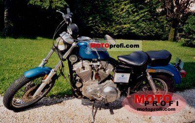 Harley-Davidson XLH Sportster 883 Standard 1990 photo