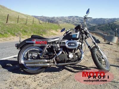 Harley-Davidson XLCH 1000 Sportster 1973 photo