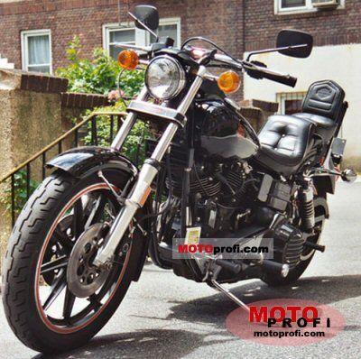 Harley-Davidson FXB 1340 Sturgis 1980 photo