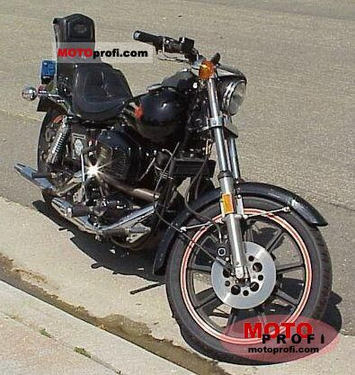 Harley-Davidson FXB 1340 Sturgis 1981 photo