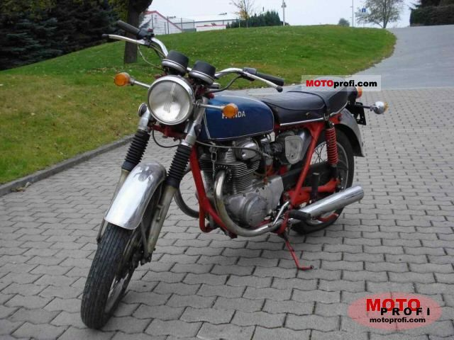 Honda CB 250 1972 photo