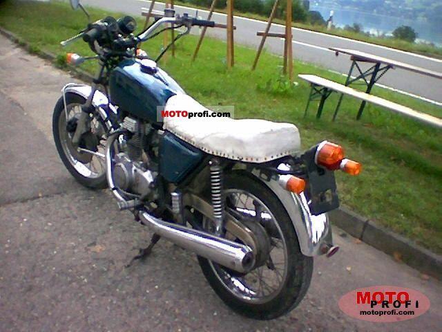Honda CB 250 1973 photo