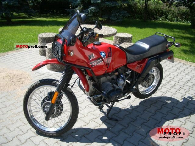 BMW R 100 GS 1992 photo