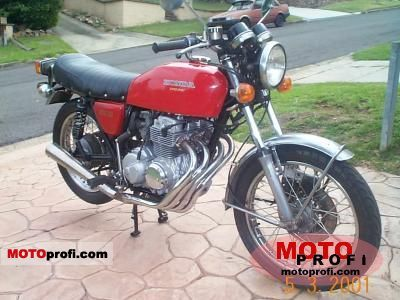 Honda CB 400 F 1975 photo