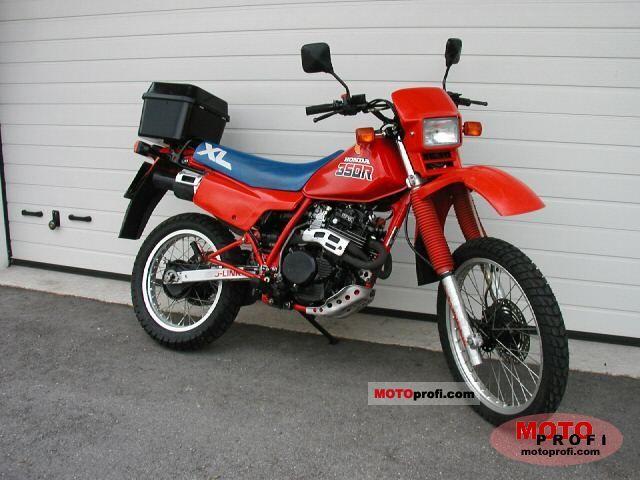 Honda XL 350 R 1986 photo