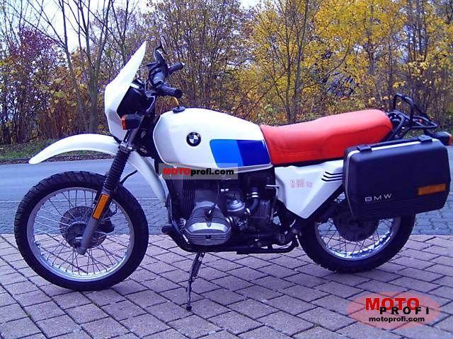 BMW R 80 G/S 1980 photo