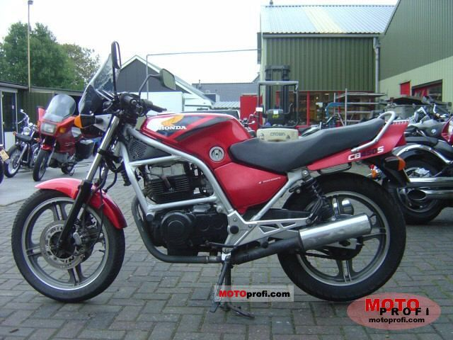 Honda CB 450 S 1987 photo