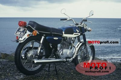 Honda CB 125 1971 photo