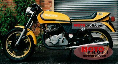 Ducati 350 S Desmo 1978 photo