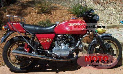 Ducati 900 SD Darmah 1982 photo