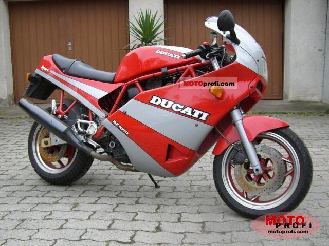 Ducati 750 Sport 1989 photo