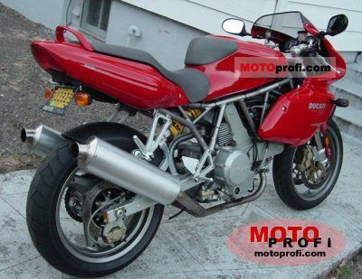 Ducati SS 750 Supersport 1999 photo