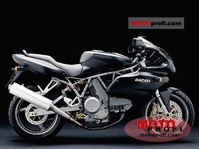 Ducati 620 Sport Half-fairing 2003 photo