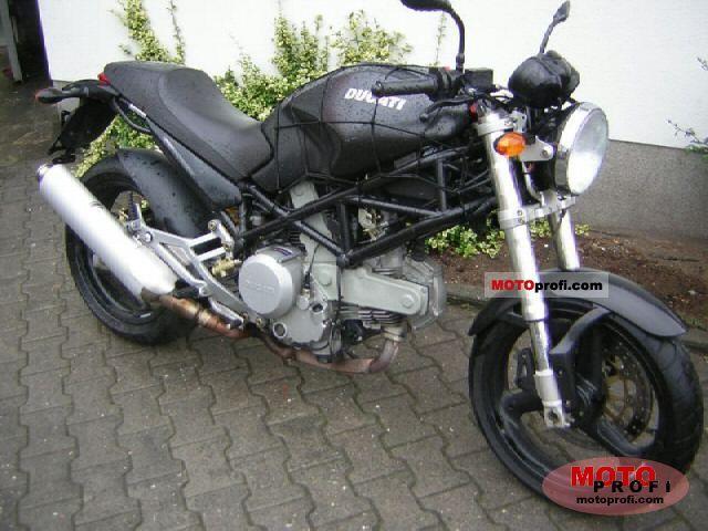 Ducati Monster 620 i.e. Dark 2004 photo