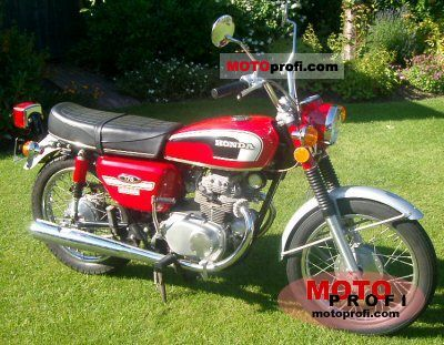 Honda CB 350 F 1974 photo