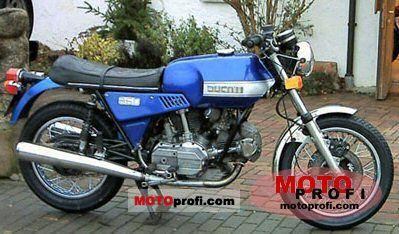 Ducati 860 GTS 1977 photo
