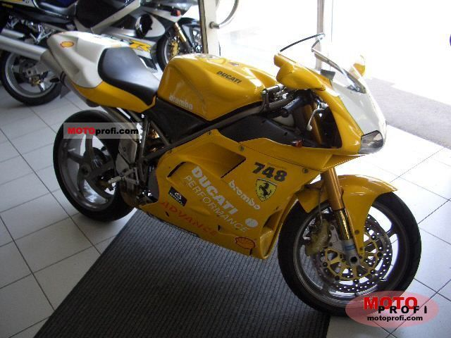 Ducati 748 R... Ducati 748 Specifications