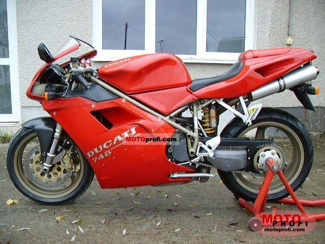 Ducati 748 S 1997 photo