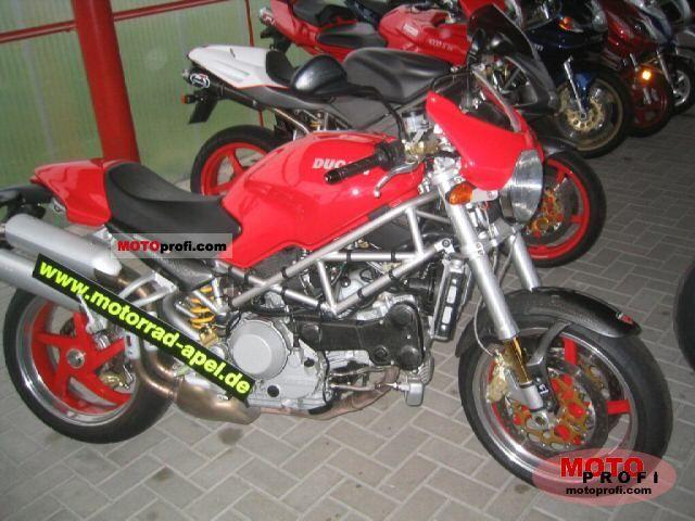 Ducati Monster S4 R 2004 photo