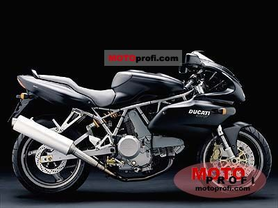 Ducati 620 Sport Half-fairing (reduced effect) 2003 photo