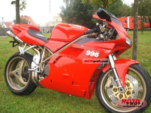 Ducati 996 Biposto 1999 photo