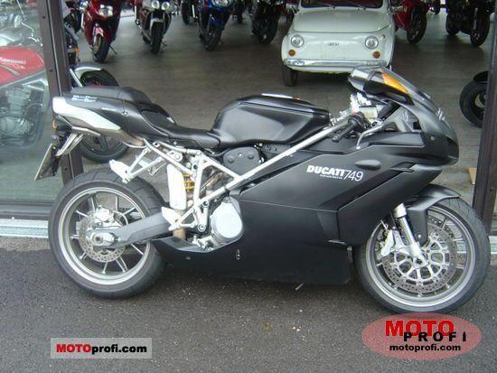 Ducati 749 Dark 2005 photo