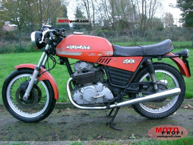 Ducati 500 GTL 1976 photo