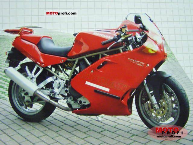 Ducati 900 SS 1998 photo