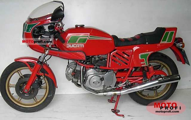 Ducati 600 SL Pantah 1981 photo