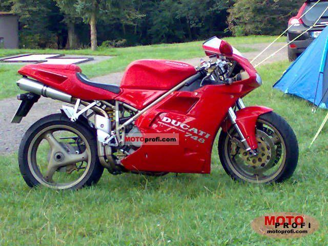 Ducati 748 Biposto 1995 photo