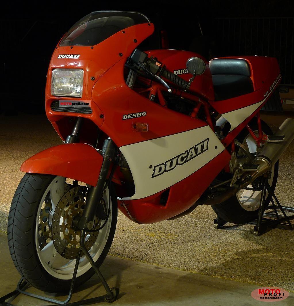 Ducati 900 SS Super Sport 1990 photo