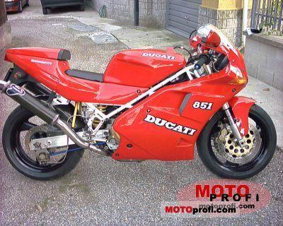 Ducati 851 S3 Strada 1992 photo