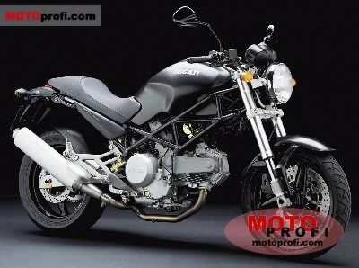 Ducati Monster 620 i.e. Dark Single Disc 2004 photo