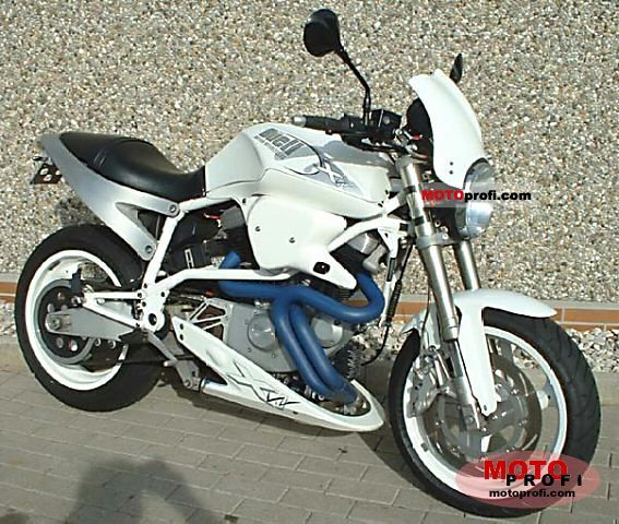 Buell X1W White Lightning 2002 photo