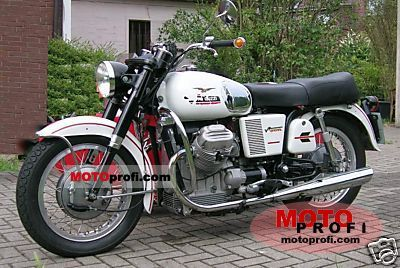 Moto Guzzi V7 Spezial 1971 photo