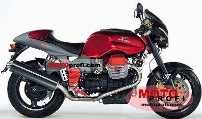 Moto Guzzi V 11 Sport Rosso Mandello Limited Edition 2001 photo