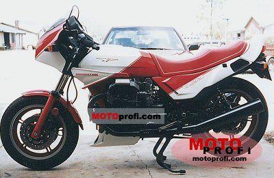 Moto Guzzi V 1000 Le Mans IV 1987 photo